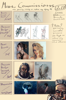 Opening Commissions | More info in description by MarTs-Art
