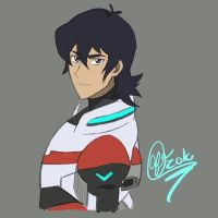 Keith Kogane- Voltron: Legendary Defenders by Mysti-cat