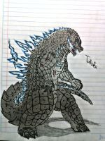 Godzilla The King of The Monsters. by TonyRaptor