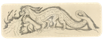 Chineese Dragon Bookmark by avafury