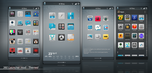 360 Modified Themed Launcher by Taine0
