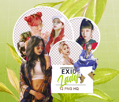 EXID {LADY} PNG PACK 01-18 by Junneemy