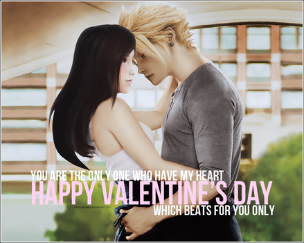 Valentine's Day Contest: CloTi in love by TifaxxLockhart