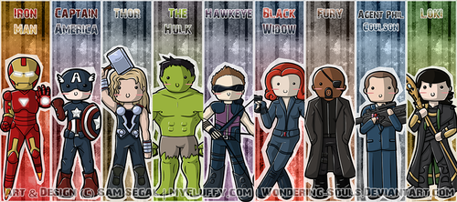 Avengers: Bookmarks Assembled by sambeawesome