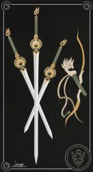 Rayearth Fuu Weapons by Lunamis