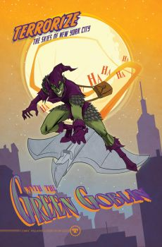 ST Green Goblin NY by seanwthornton