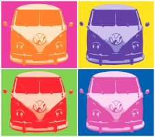 VW Camper van by jsw2k5