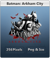 Batman Arkham City - Icon by Crussong