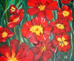 Red Poppies for Nathalie by LeeAnneKortus