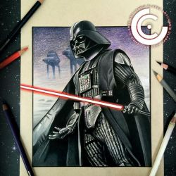 Darth vader finished by clarke-art