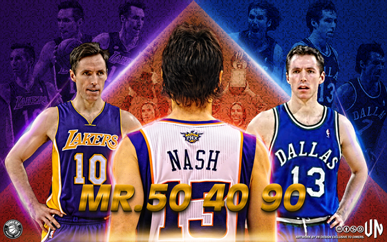 Steve Nash Mr. 50-40-90 by vndesign