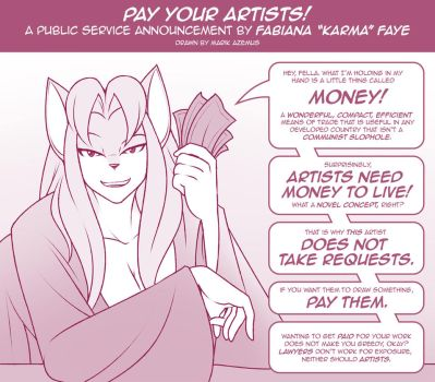 Pay Your Artists! by MarikAzemusReturns