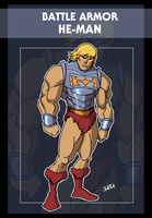 Battle Armor He-man by Jukkart