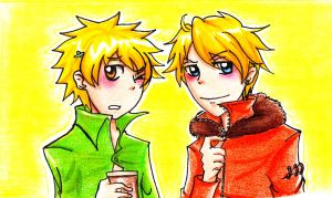 SP: Kenny and Tweek by YessSullivan