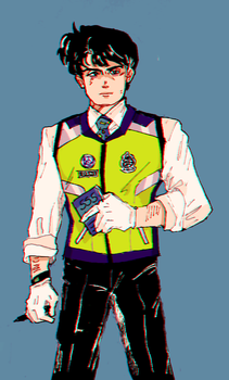 Safety Vest by Officer-Diana