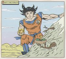 FINDING THE DRAGON BALLS by paintmarvels