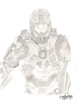 Spartan 117 by michelle-deleon