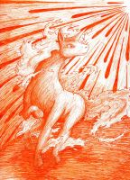 Rapidash's Wildfire by moombas-luv-me