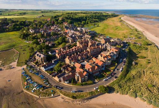 Alnmouth by scotto