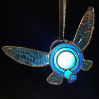 Stained Glass Navi Ornament by DarkeVitrum