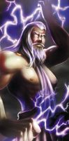 Greek god- Zeus by Alayna