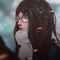 Snowfire by Avnil