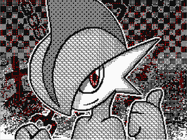 Gallade - Pokemon by snow8cloud