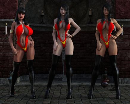 Vampirella New and Old by eliasw84