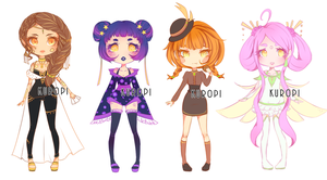 ADOPTABLE 02 | OPEN | Dolls by Kur0pi