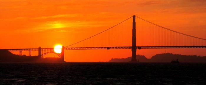 Golden Gate Sunset no. 2 by soffl