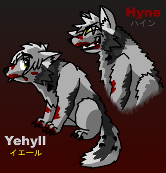 Art Trade: Yehyll and Hyne by JomoOval