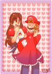 Mario and Eve Request by mariogamesandenemies