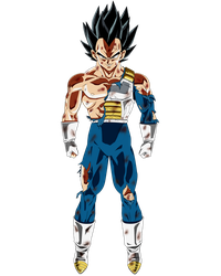 Limit breaker Vegeta by ruga-rell