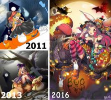 Draw it again: It's been 5 years by KenPan