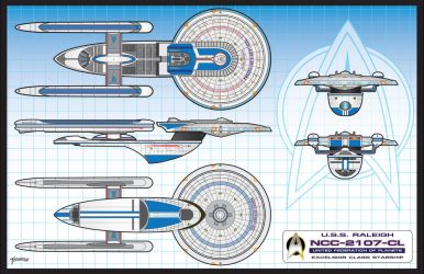 U.S.S.Raleigh NCC-2107-CL by stourangeau