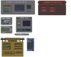 Some unfinished user interfaces by buch415