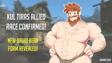 Kul Tiras Bear Form Revealed! by Obhan