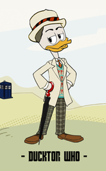 Ducktor Who - 7th Ducktor by JStCPatrick