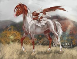 Mun Pegasus by MUSONART