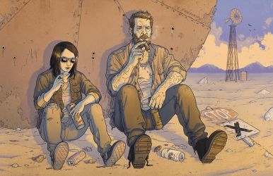 Logan and Laura by mikefeehan