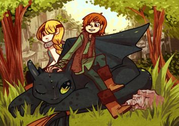 How to Train Your Dragon by Shilloshilloh