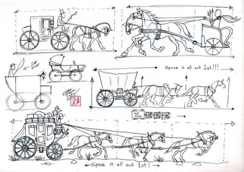 Draw Harnesses and Carriages by Diana-Huang