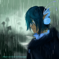 Avarys Rains by AaronFrostflower