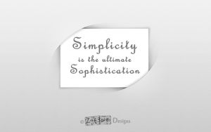 Simplicity by Zat3am