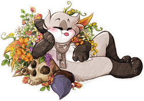Loopy is flowery bb ((Redbubble!)) by Loopy44
