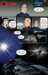 Reimagined Sci-Fi Crossover Comic - page 02 by ironspider029