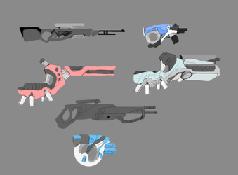 Guns by ZombieThings