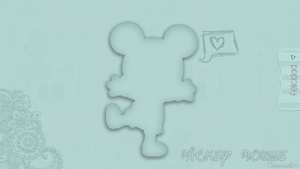 wallpaper mickey mouse by creamanuali