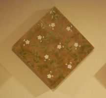 Floral Wall Art - Middle by erin-c-1978