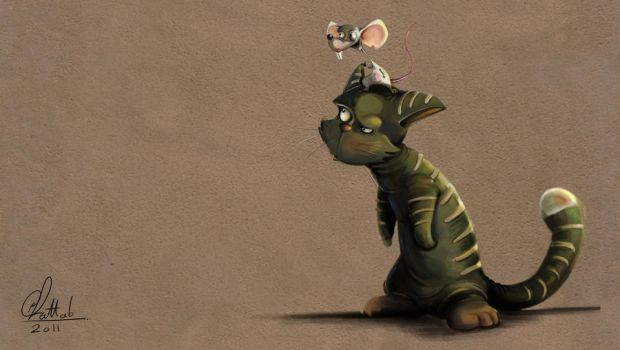 cat and mouse by ammarkhattab